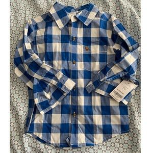 ♥️5 for 20♥️ Carters Plaid Long Sleeves